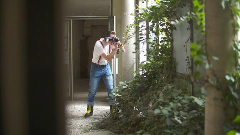 Urban Explorer Almeroth im Polizeipräsidium Frankfurt