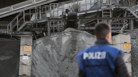 Ein Polizist in Hessen.