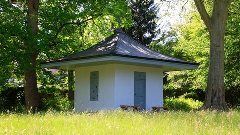 Das Teehaus im Bad Homburger Schlosspark.