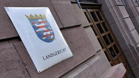 Eingang Langericht Gießen