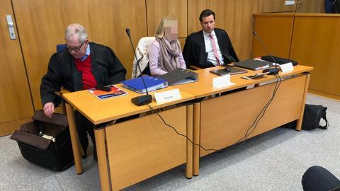 Angeklagte Krankenschwester vor dem Landgericht Marburg