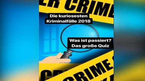 Quiz: Kuriose Kriminalfälle