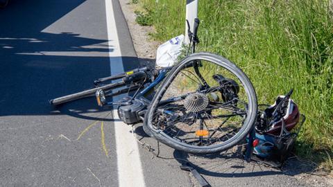 Das E-Bike der getöteten Frau.