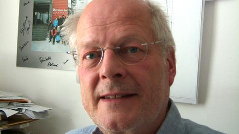 Ralf Werneke, Architekt des Brunnens.