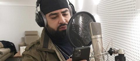 Rapper Azzi Memo will den Familien der Anschlagsopfer von Hanau helfen.