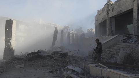Ruinen in Raqqa