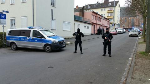 Durchsuchung einer Moschee in Kassel