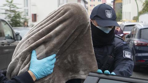 Festnahme in Frankfurt