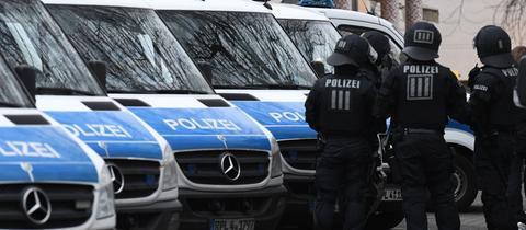 Razzia Festnahme Polizei