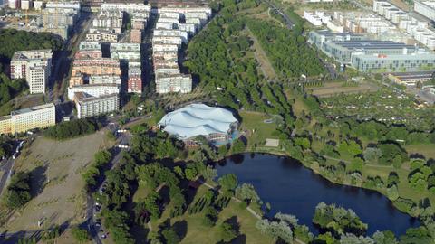 Luftbild Frankfurt-Rebstock
