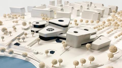 Entwurf Rebstockbad Geising + Böker Architekten