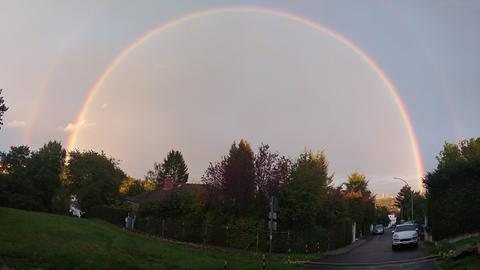 Regenbogen in Bad Soden