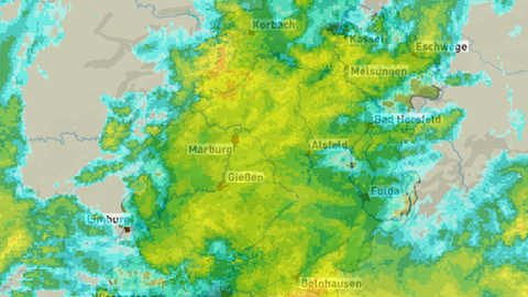 Regenradar hessenschau.de