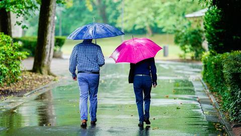 Regenschirm Wiesbaden