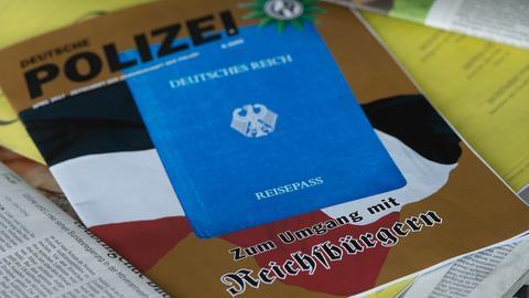"""Cover der Zeitschrift """"Deutsche Polizei""""."""