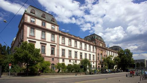 Residenzschloss in Darmstadt