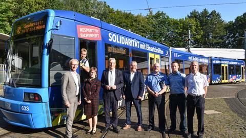 """""""Respekt-Tram"""" in Kassel"""