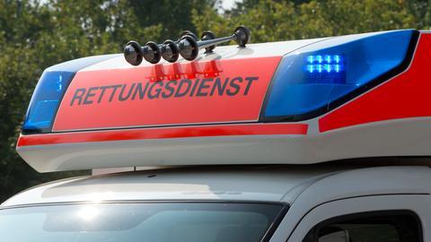 Sujet Rettungswagen Rettungsdienst Blaulicht Martinshorn