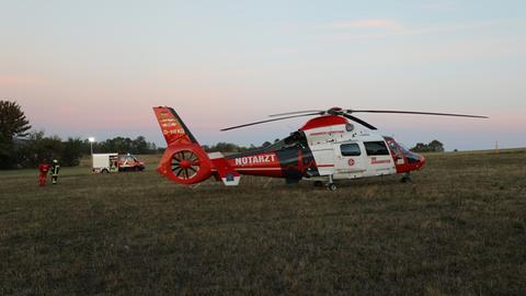 Rettungshubschrauebr Notarzt Hubschrauber Sujet