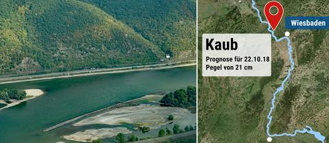 Dem Rhein fehlt Wasser