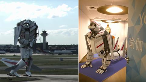 Roboter Fraport