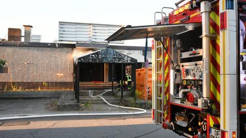 Feuerwehreinsatz in Rödermark