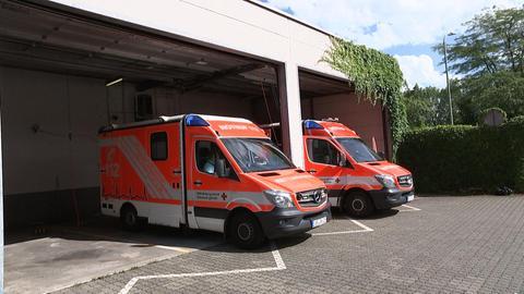 Rettungseinsatz in Offenbach