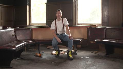Die ehemalige Disco in Wehretal: Früher Party, jetzt Gerümpel