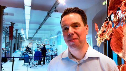 """Rurik von Hagens, Geschäftsführer der """"Körperwelten"""", im Interview"""