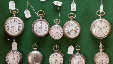 Uhrensammlung von Heinz Schenk