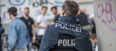 Festnahmen nach Randale in Darmstadt