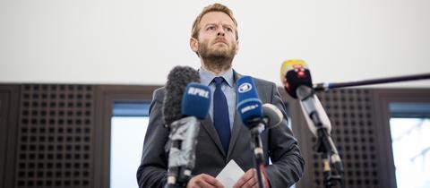 Der Sprecher der Bundesanwaltschaft, Markus Schmitt, gab am Montag Auskunft zu den Ermittlungen im Fall Lübcke.