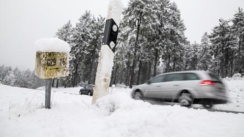 Schnee im Taunus