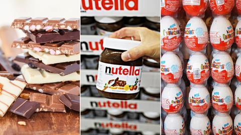 Diebe stehlen Kühlanghänger mit Schokolade, Nutella, Überraschungseiern und anderen Süßigkeiten.