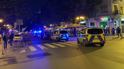 Polizeieinsatz nach Schreckschüssen im Frankfurter Bahnhofsviertel