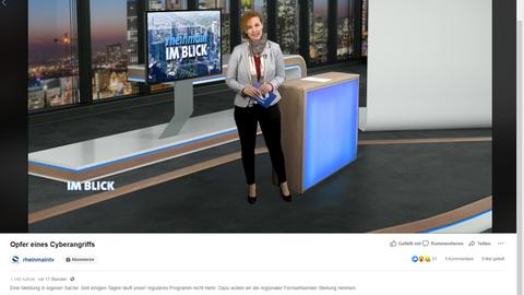Screenshot Rheinmaintv