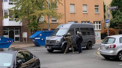 SEK-Einsatz in Frankfurt