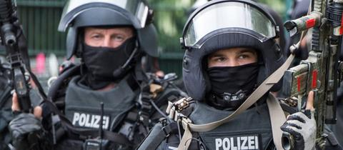 Spezialeinsatzkräfte der Polizei