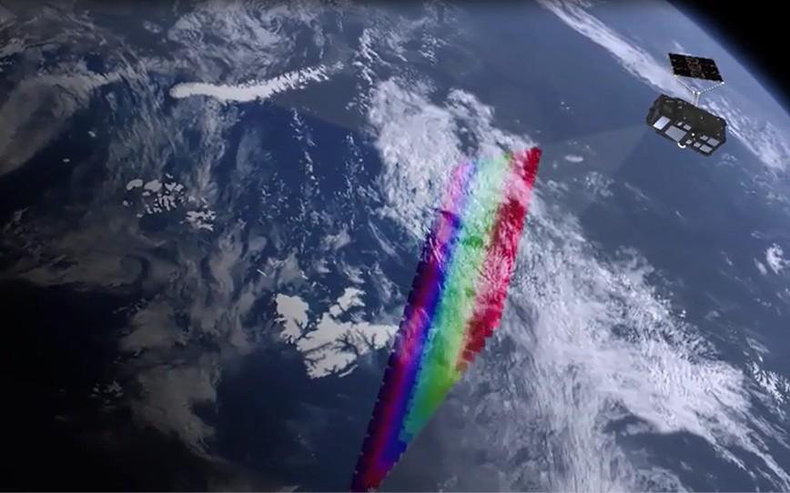 Grafik: Sentinel-3B scannt die Weltmeere