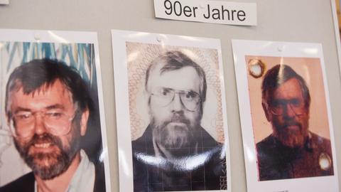 Fotos des mutmaßlichen Serienmörders