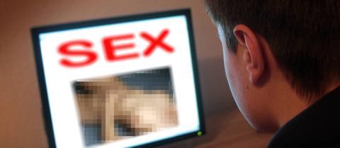 Wer Sex-Seiten besucht, kann schnell Opfer von Erpressern werden.