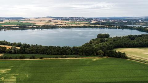 Totale: Singliser See bei Borken
