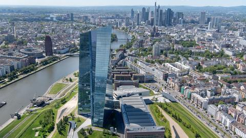 Skyline Frankfurt EZB