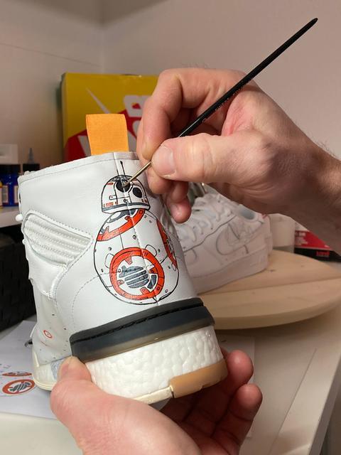 Sneaker-Designer Remi Penkalla