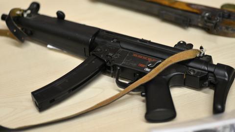Softair-Maschinenpistole