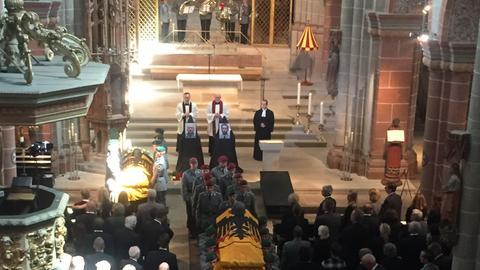 Trauerfeier im Dom zu Fritzlar für die in Mali getöteten Hubschrauber-Piloten