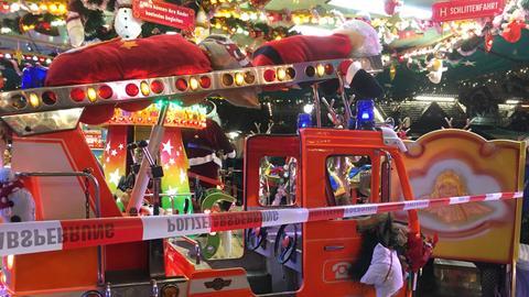 Sperrung Frankfurter Weihnachtsmarkt