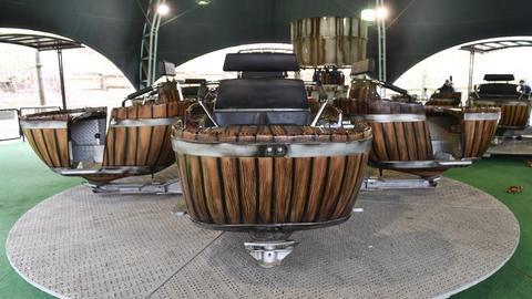 Spinning Barrels.