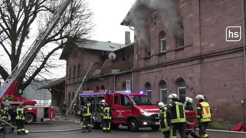 Frau stirbt bei Brand