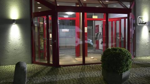 Geldautomat in Viernheim gesprengt.